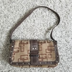 Guess mini bag brown